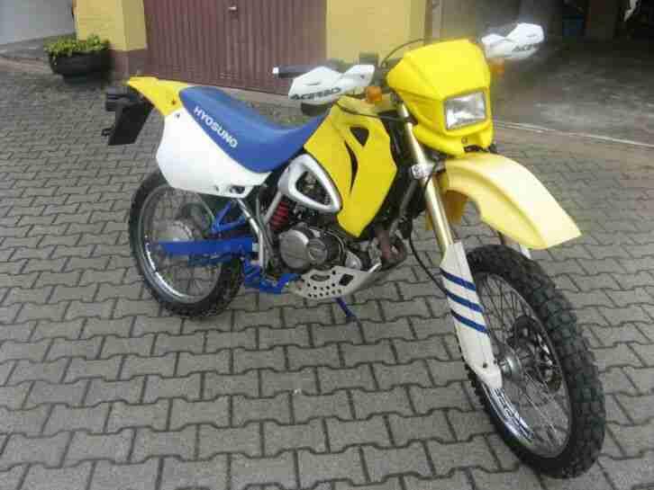 Hyosung XRX 125 Enduro Motorrad