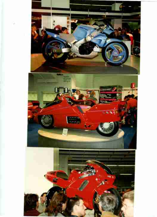 IFMA 1990, 70 Original Fotos, Motorräder