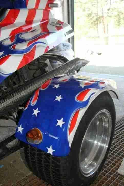 ITM V8 Trike eines der letzten, echten V8 Monster