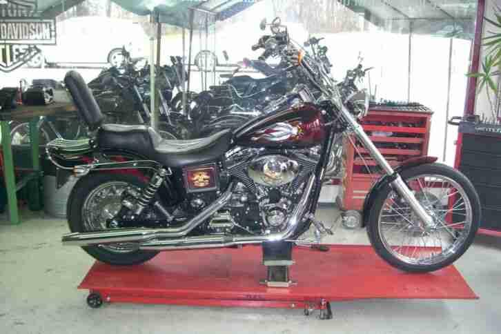 Ich verkaufe meine schöne Harley Davidson Custom FXDWG 1450 wegen IV