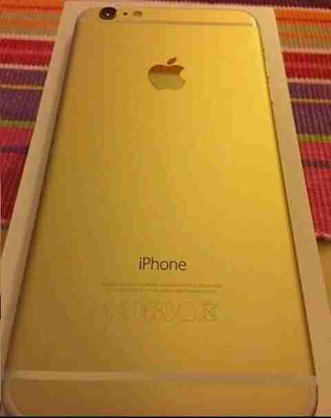 Iphone 6 plus Gold 128gb neu