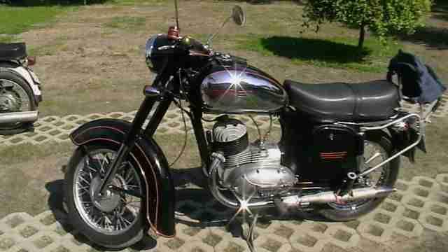jawa motorrad typ 356 175 ccm bestes angebot von. Black Bedroom Furniture Sets. Home Design Ideas