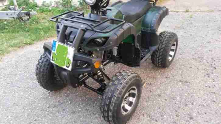 Jinling Quad ATV 250ccm 420km BJ2016 TÜV Neu Top Case