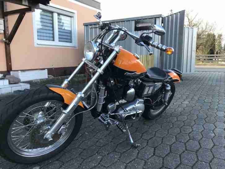 Juwel Harley Davidson Softail Springer Classic 1996 EVO original 4.550 km