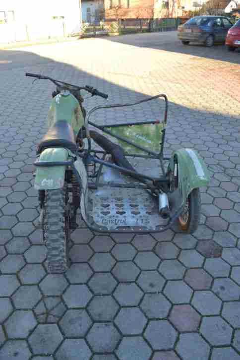 Kickstarter Kawasaki Kx