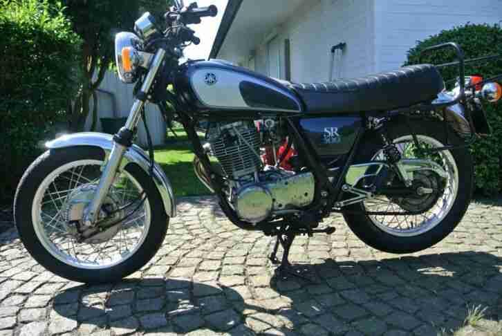 KLASSIKER Yamaha SR 500 48T, EZ. 10 1992, 18,4tkm, TÜV 7 2020