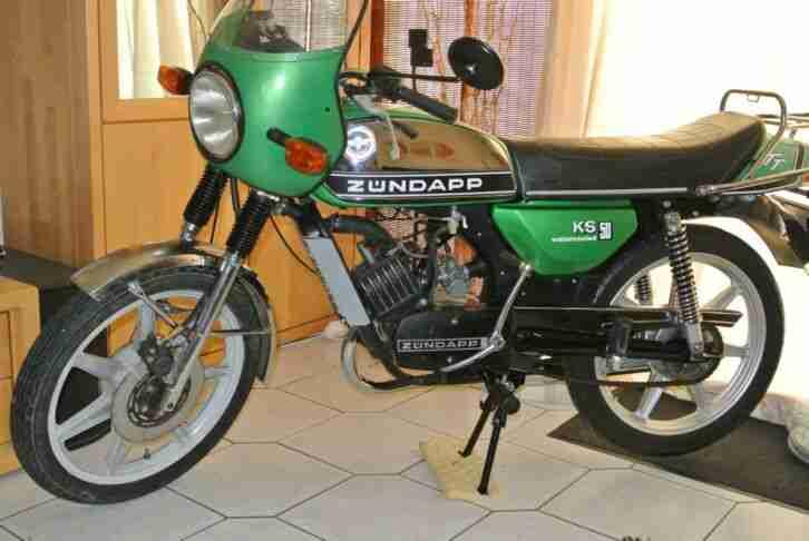KLASSIKER Zündapp KS 50 watercooled TT, KKR 6,25 PS, BJ 1977 78