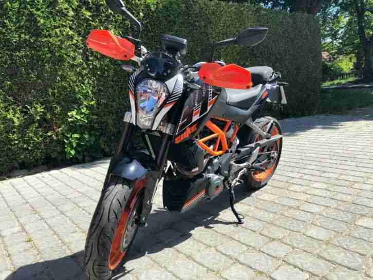 KTM 390 Duke fast neu!!