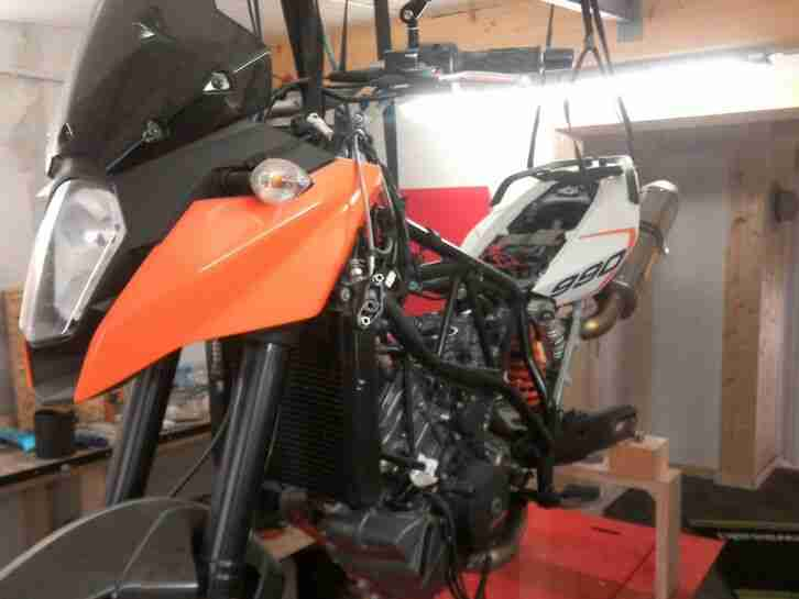 KTM 990 SMT Umbau 1190er Motor Projektabbruch