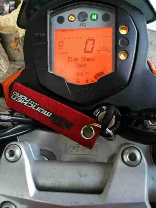KTM Duke 125 Unfallmaschine