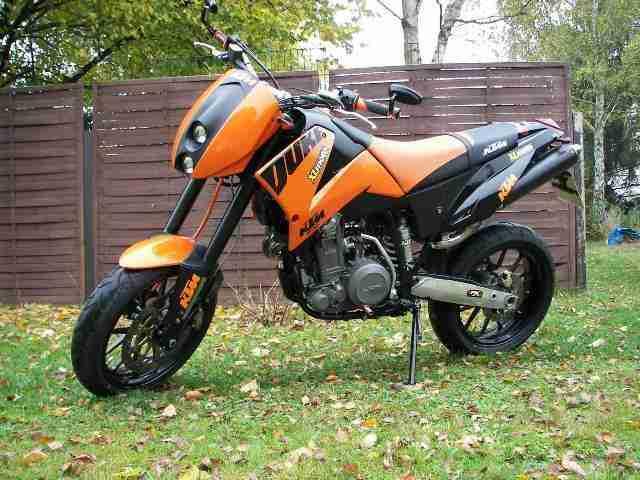 KTM Duke 640 TOP Motorad