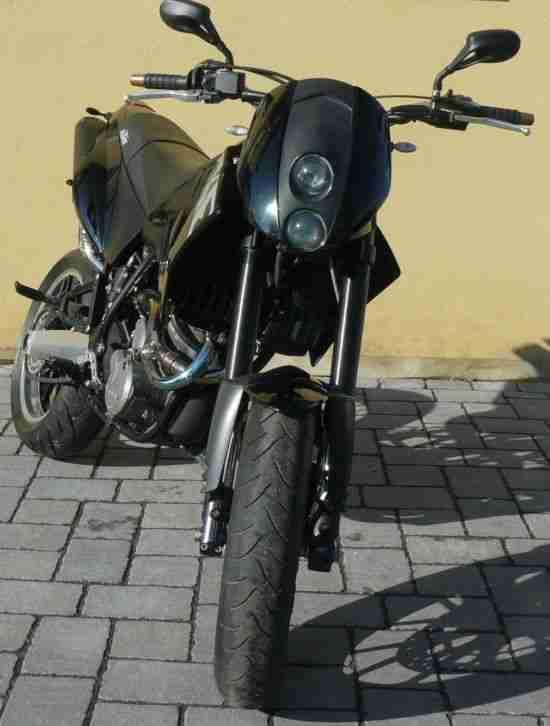 KTM Duke II, 640 LC4, nur 6.600 km gelaufen, Supermoto SM Motorrad, TOP, mit TÜV