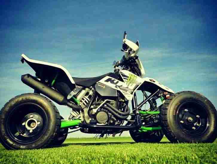 KTM E ATV 525 EXC Monster ENERGY Supermoto,