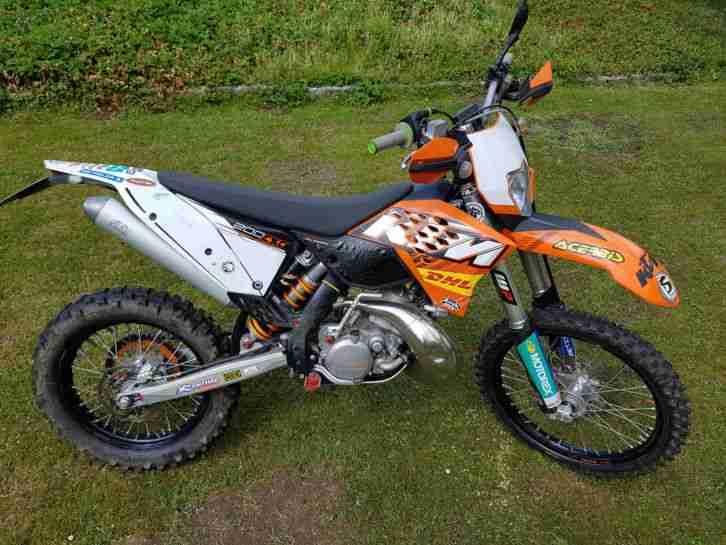 KTM EXC 200 Enduro