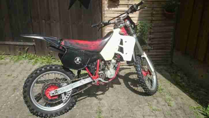 GS 125 HD Vollcross Enduro mit Brief,