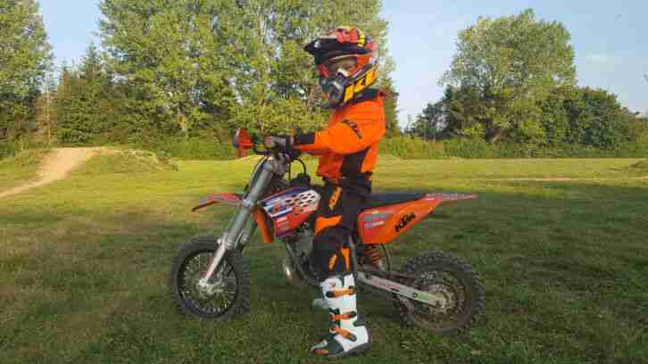 KTM Kinder Motorrad ! Top Zustand !!