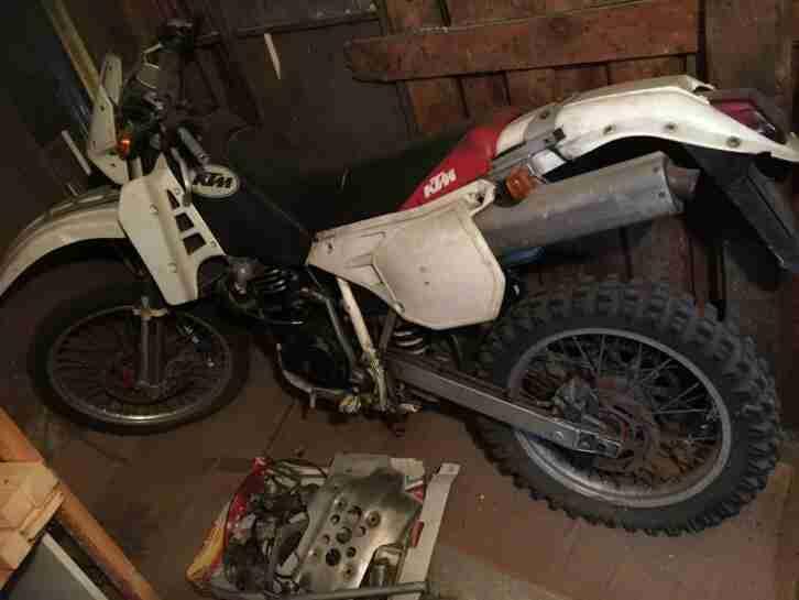 KTM LC4 600 1991 Motorrad