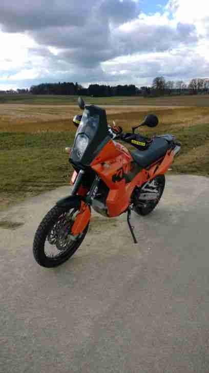 LC8 950 Adventure S orange Rally Bi Xenon