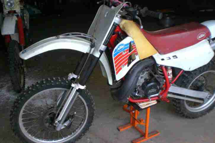 KTM Motocross 350 Baujahr 1986