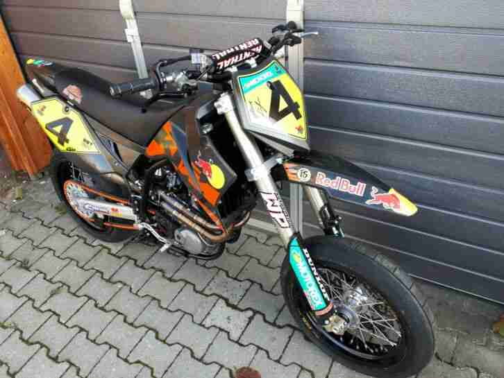 KTM Supermoto 660 SMS Factory Replica
