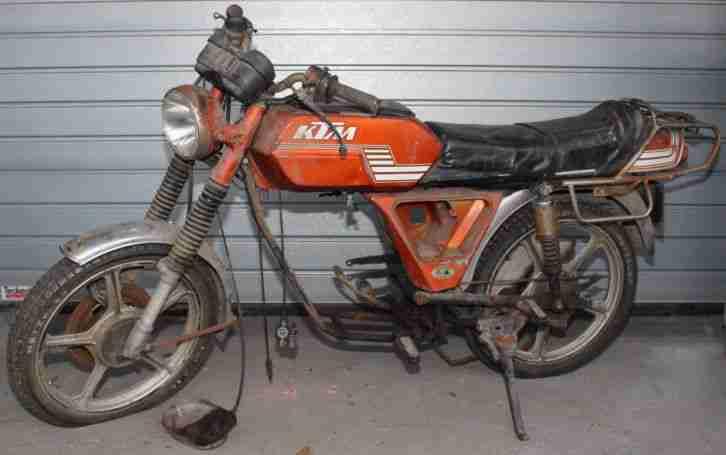 KTM Typ Comet GP 50MS Bj. 1978 Scheunenfund