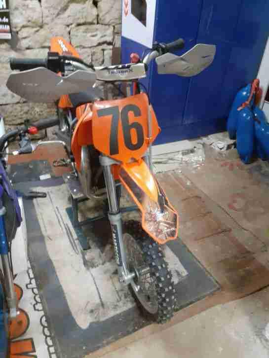 KTM sx 50 Pro Senior LC Kindercross,Kindermotorrad,Dirt Bike