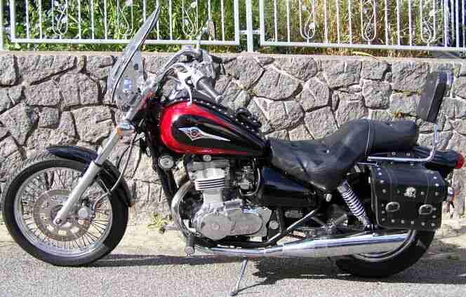 Kawasaki EN 500 C TÜV 2020 sehr gepflegter Zustand