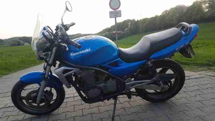 Kawasaki ER 5 Blau