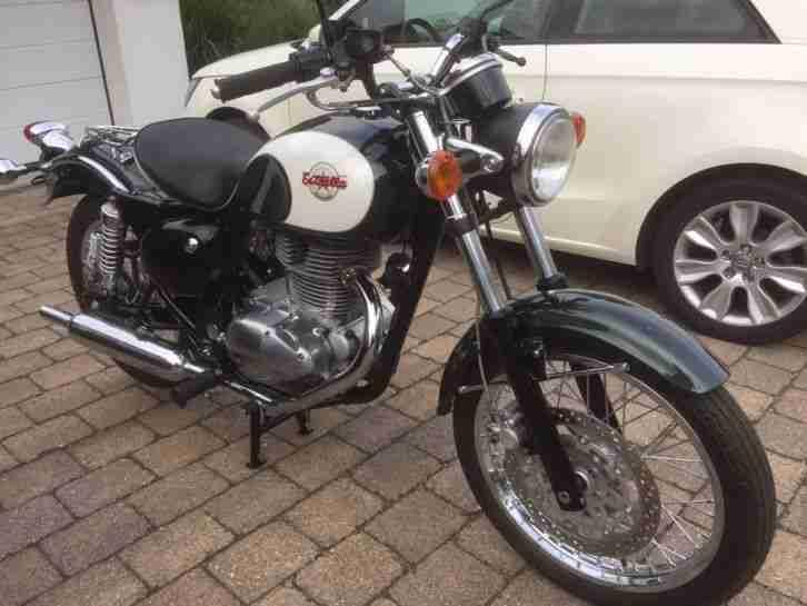 Kawasaki Estrella 250 Wie Neu