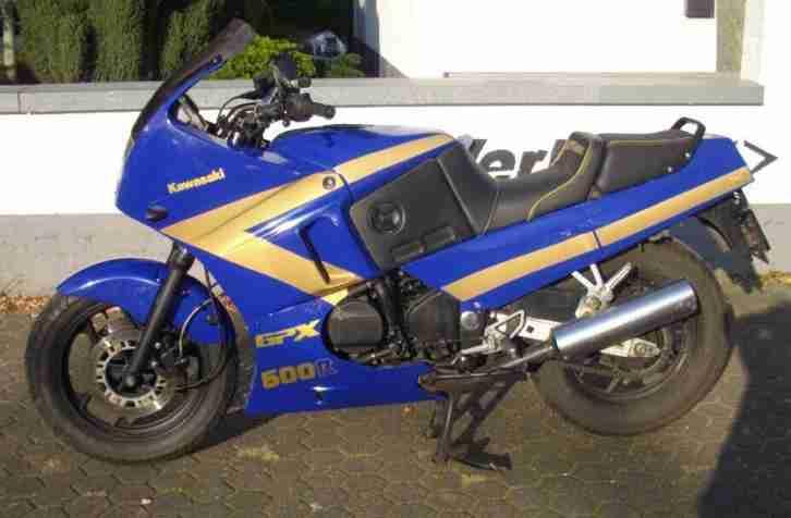 Kawasaki GPX 600 R EZ 3 94 77 PS viele Extras, springt nicht an, lange Standzeit