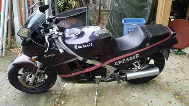 Kawasaki Gpz 600r Ninja Garagenfund F R Unfall Und