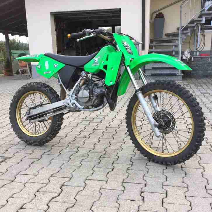 Kawasaki KX 80, Motocross