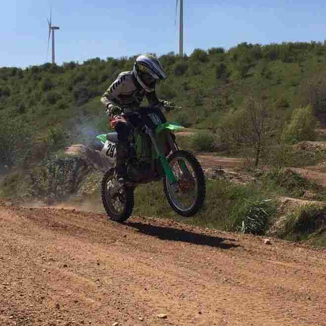 Kawasaki KX 85 Motocross MX Enduro Cross Maschine 2 Takt Kindercross,Jugendcross