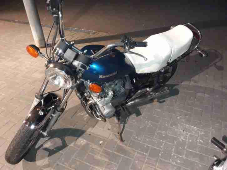 Kawasaki KZ 550 B eine echte rarität die man nur schwer so wieder findet.