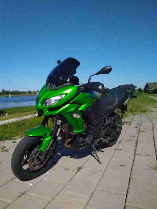 Kawasaki Versys 1000 Tourer neues Modell mit Fahrmodi und ABS usw.