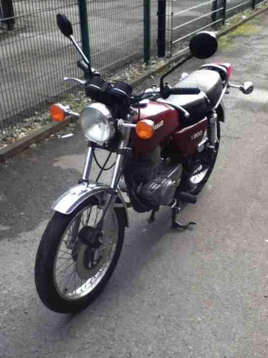 Kawasaki Z 200 mit Tüv