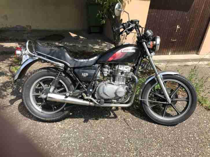 Kawasaki Z 440 LTD Belt Drive Bj. 1984 3.Hand Bereifung neu 49950km