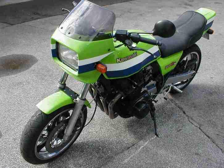Kawasaki Z1000R ELR Bj1982 Viele Umbauten alles Eingetragen Tüv neu