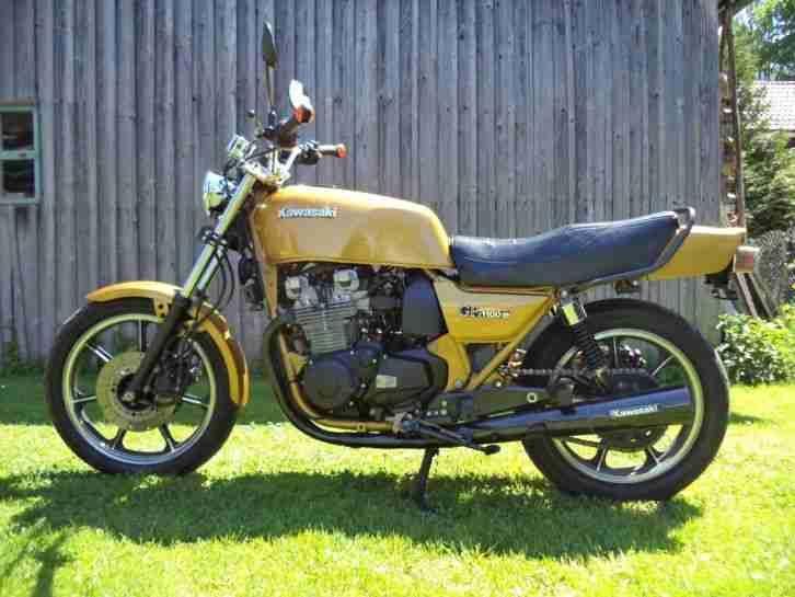 Kawasaki Z1100 GP B1 Oldtimer TÜV 07 18 viel neu sehr Selten wie Z1000 J Top