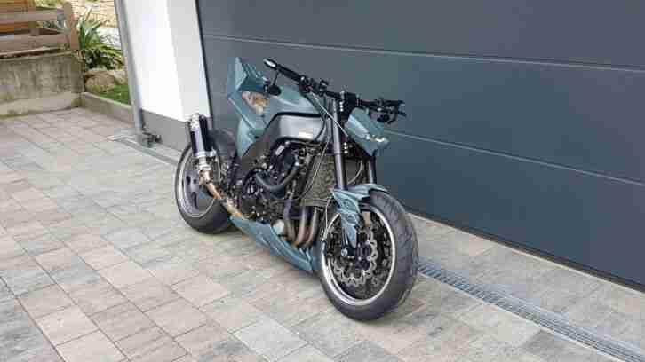 Kawasaki ZX 10R Streetfigter Umbau Einzelstück