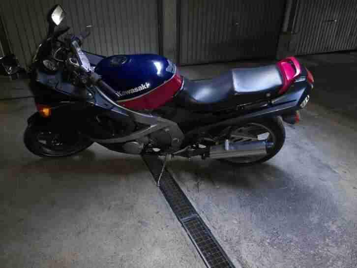 Kawasaki ZX600 D Bj.1993 US MODELL DEUTSCHE PAPIERE TÜV BIS 06 2021