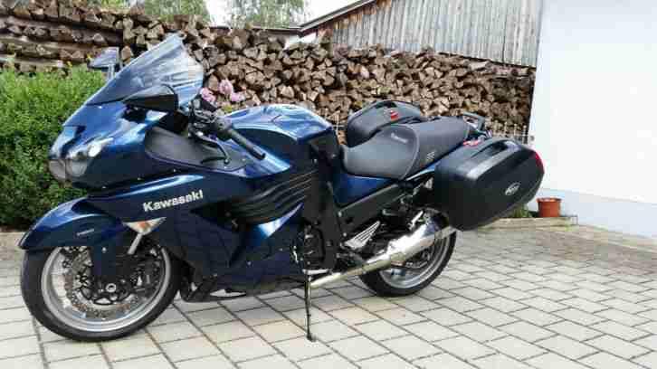 Kawasaki ZZR 1400 ABS Sporttourer, gepflegt mit - Bestes ...