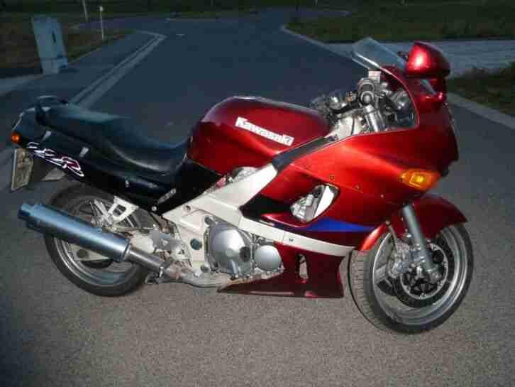 Kawasaki ZZR 600 04 1996 Rot Metallic Für Selbstreparierer