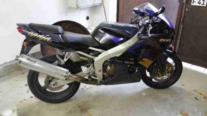 Kawasaki Zx6r, top Zustand, Wartung neu, Kette u Reifen neuwertig, A2 48 PS