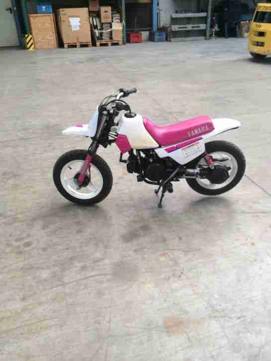 kinder motorrad yamaha pw  cross pocketbike bestes