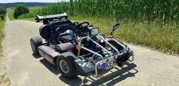 Kreidler F Kart 170 mit Strassenzulassung schwarz unfallfrei Rarität