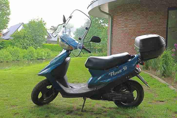 Kreidler Florett 50ccm, Motorroller mit Komfort