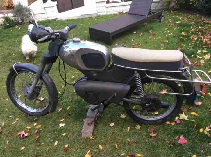 Kreidler Florett K54 32 DB Scheunenfund Winterprojekt Baujahr 1968