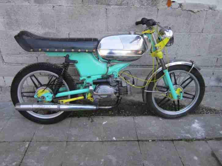 Kreidler Florett RMC Flory – Naked Racing Fun Bike sehr flott Selbstabolung