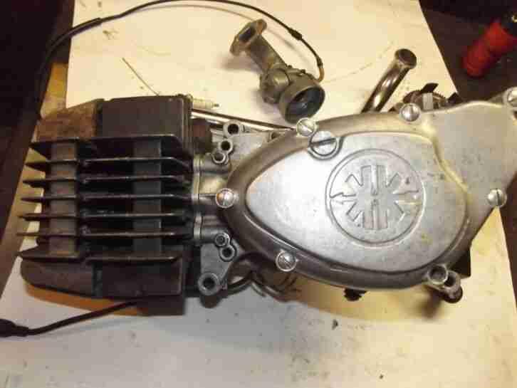 Kreidler Florett RMC Motor direkt Vergaser Zünder